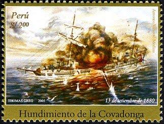 HUNDIMIENTO DE LA COVADONGA