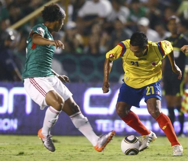 MEXICO 1 COLOMBIA 0
