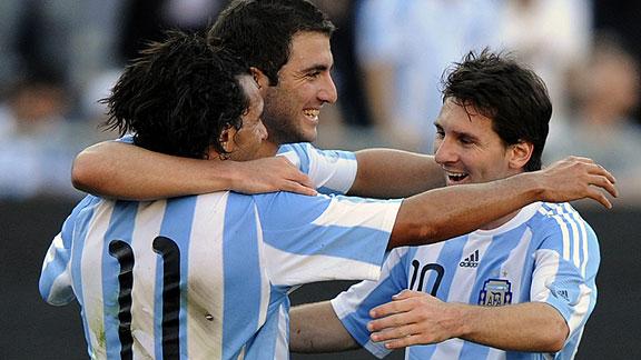 ARGENTINA 4 ESPAÑA 1