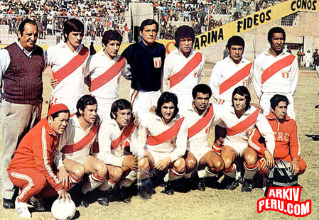 PERU CAMPEÓN DE AMÉRICA 1975