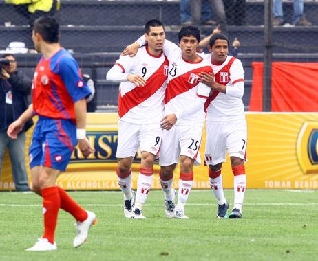 PERU 2 Costa Rica 0