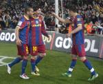 BARCELONA 5 - REAL MADRID 0 (2)