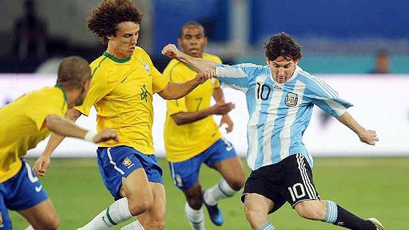 ARGENTINA 1 - BRASIL 0