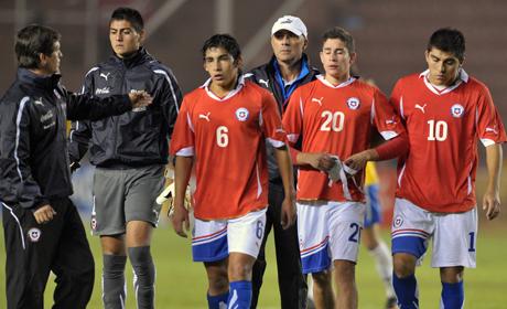 BRASIL 5 CHILE 1
