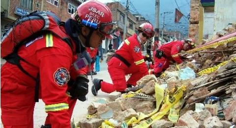 BOMBEROS PERUANOS
