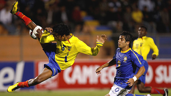 BRASIL 1 ECUADOR 0 SUB20