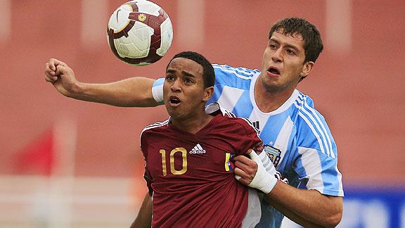 ARGENTINA 1 VENEZUELA 1 SUB20