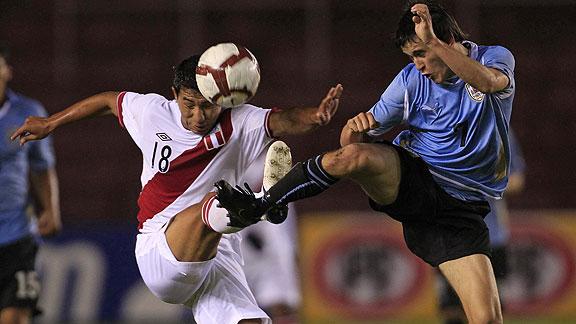 PERU 2 URUGUAY 0