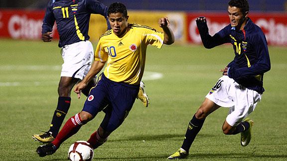 COLOMBIA 1 ECUADOR 1 SUB20
