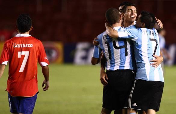 ARGENTINA 3 - CHILE 1
