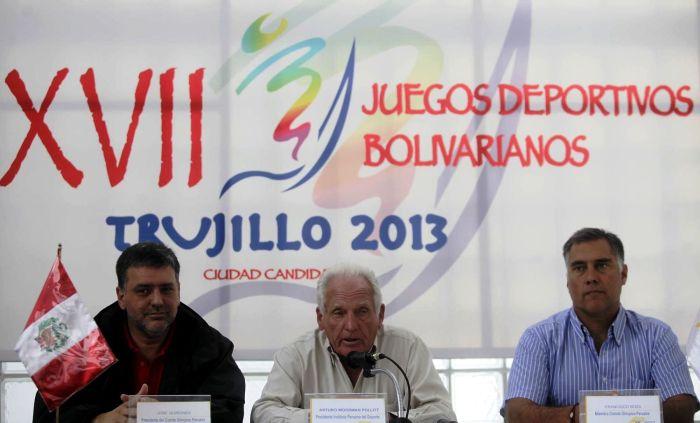 JUEGOS BOLIVARIANOS PERU 2013