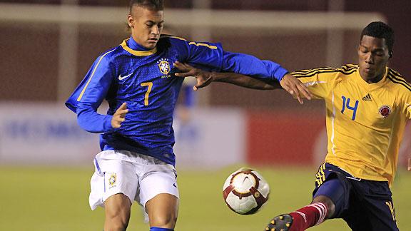 BRASIL 2 COLOMBIA 0