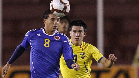 COLOMBIA 0 ECUADOR 0