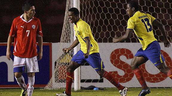 ECUADOR 1 - CHILE 0