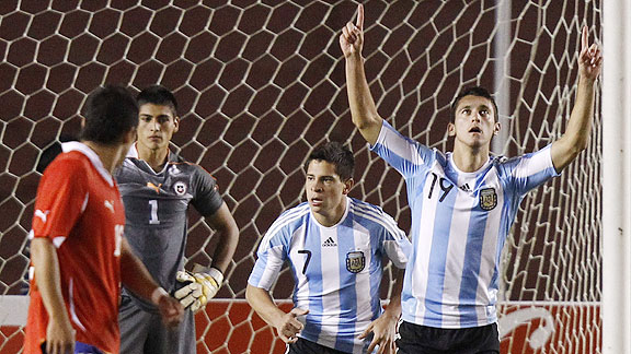 ARGENTINA 3 CHILE 2