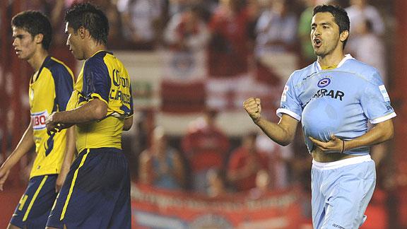 ARGENTINOS JUNIORS 3 - AMÉRICA 1