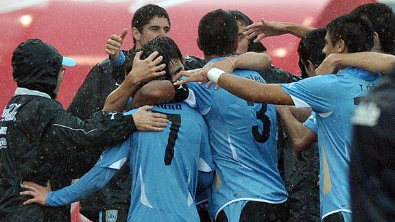 URUGUAY 1 CHILE 0