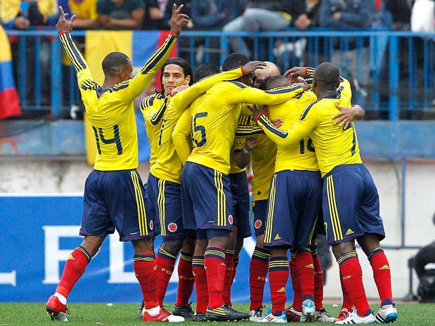 COLOMBIA 2 - ECUADOR 0