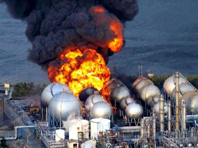 EXPLOSION NUCLEAR EN JAPON