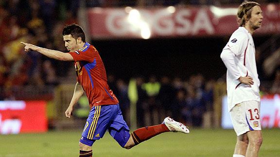 ESPAÑA 2 - REPUBLICA CHECA 1