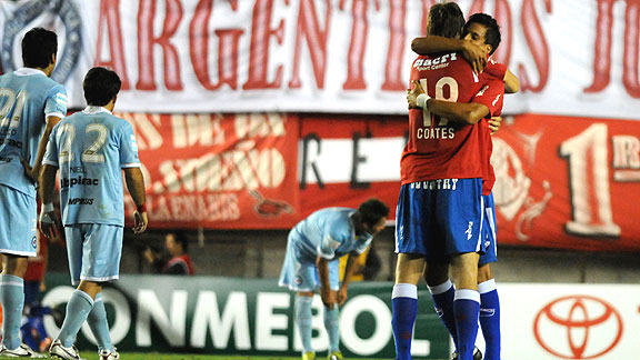ARGENTINOS JUNIORS 0 - NACIONAL 1