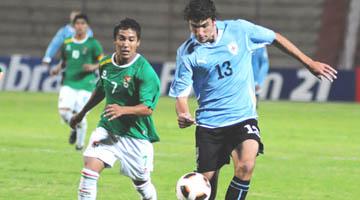 URUGUAY 2 - BOLIVIA 0