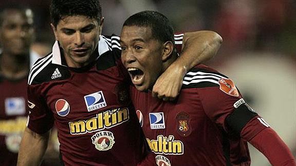 CARACAS 2 - UNION ESPAÑOLA 0