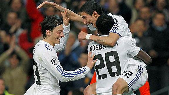 REAL MADRID 3 - LYON 0