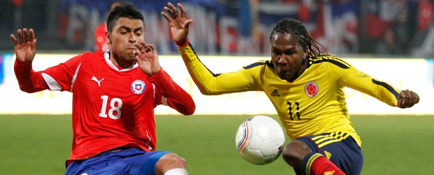 COLOMBIA 0 - CHILE 2
