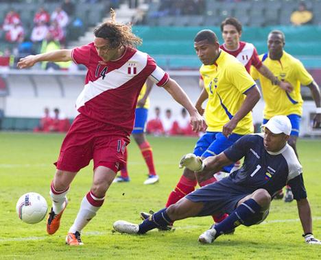 PERU 0 - ECUADOR 0