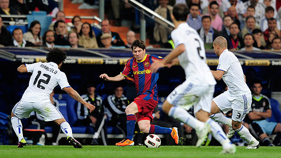 REAL MADRID 1 - BARCELONA 1