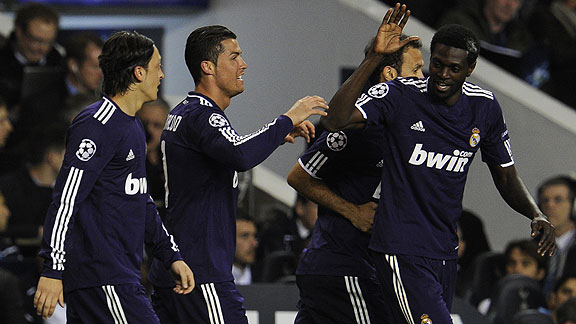 TOTTENHAM 0 - REAL MADRID 1