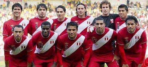 SELECCION PERUANA DE FUTBOL 2011