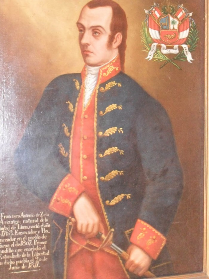 FRANCISCO DE ZELA