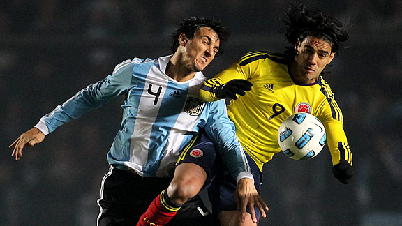 ARGENTINA 1 - COLOMBIA 1