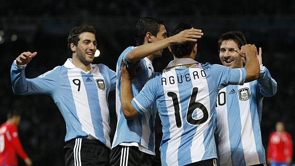 ARGENTINA 3 - COSTA RICA 0