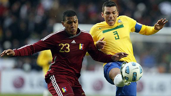 BRASIL 0 - VENEZUELA 0