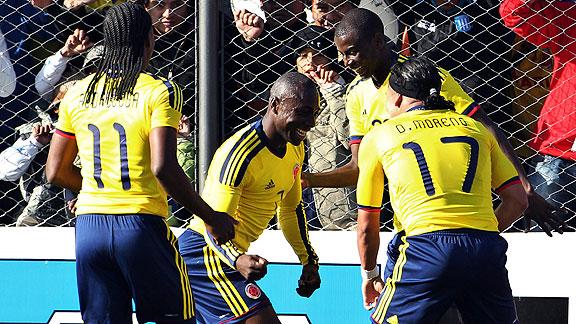 COLOMBIA 1 - COSTA RICA 0