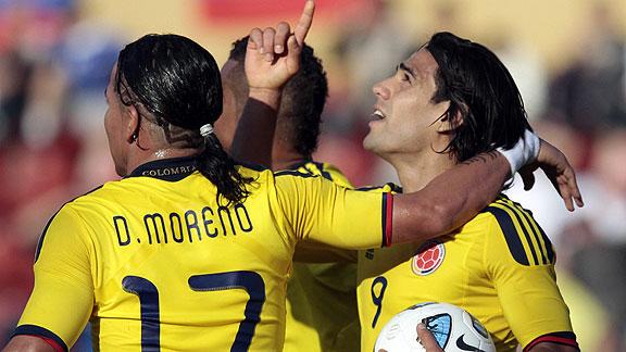 COLOMBIA 2 - BOLIVIA 0