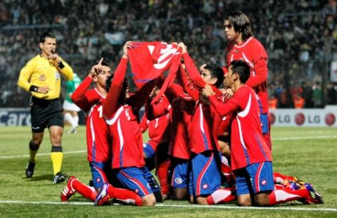 COSTA RICA 2 - BOLIVIA 0