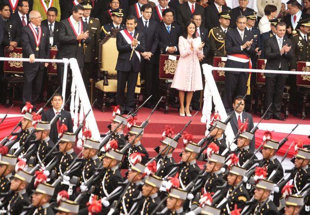 DESFILE MILITAR PERUANO 2011
