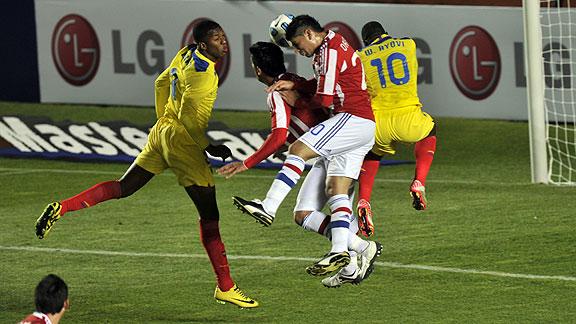 PARAGUAY 0 - ECUADOR 0