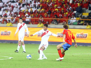 PERU 0 - ESPAÑA 0