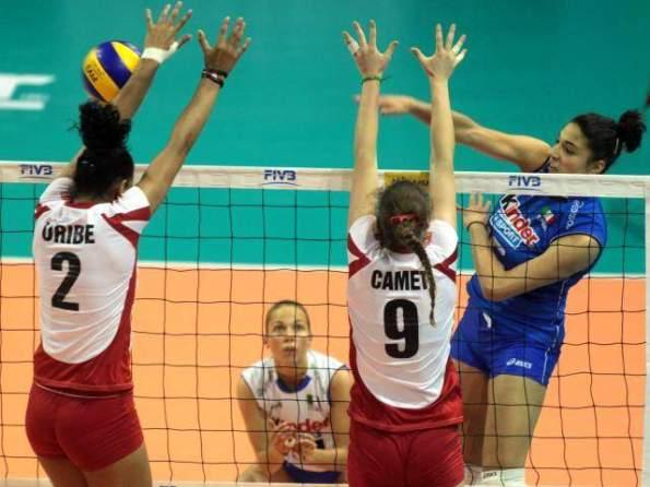 PERU 0 - ITALIA 3