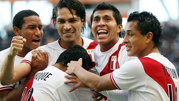 PERU 4 - Venezuela 1