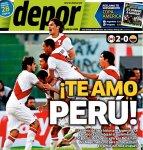 PORTADAS PERUANAS - PERÚ  2 - COLOMBIA 0 (1)
