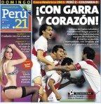 PORTADAS PERUANAS - PERÚ  2 - COLOMBIA 0 (3)