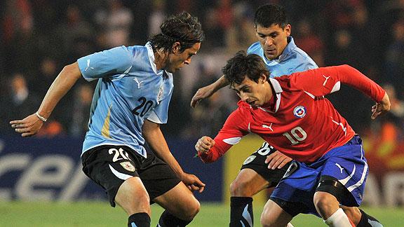 URUGUAY 1 - CHILE 1