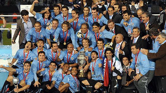 URUGUAY CAMPEÓN COPA AMERICA 2011