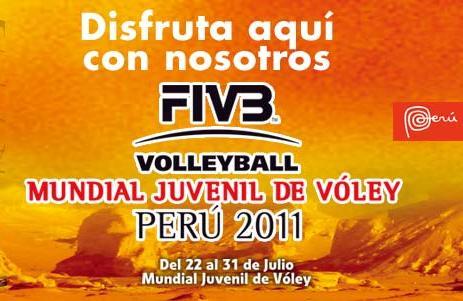 MUNDIAL DE VOLEY JUVENIL PERU 2011